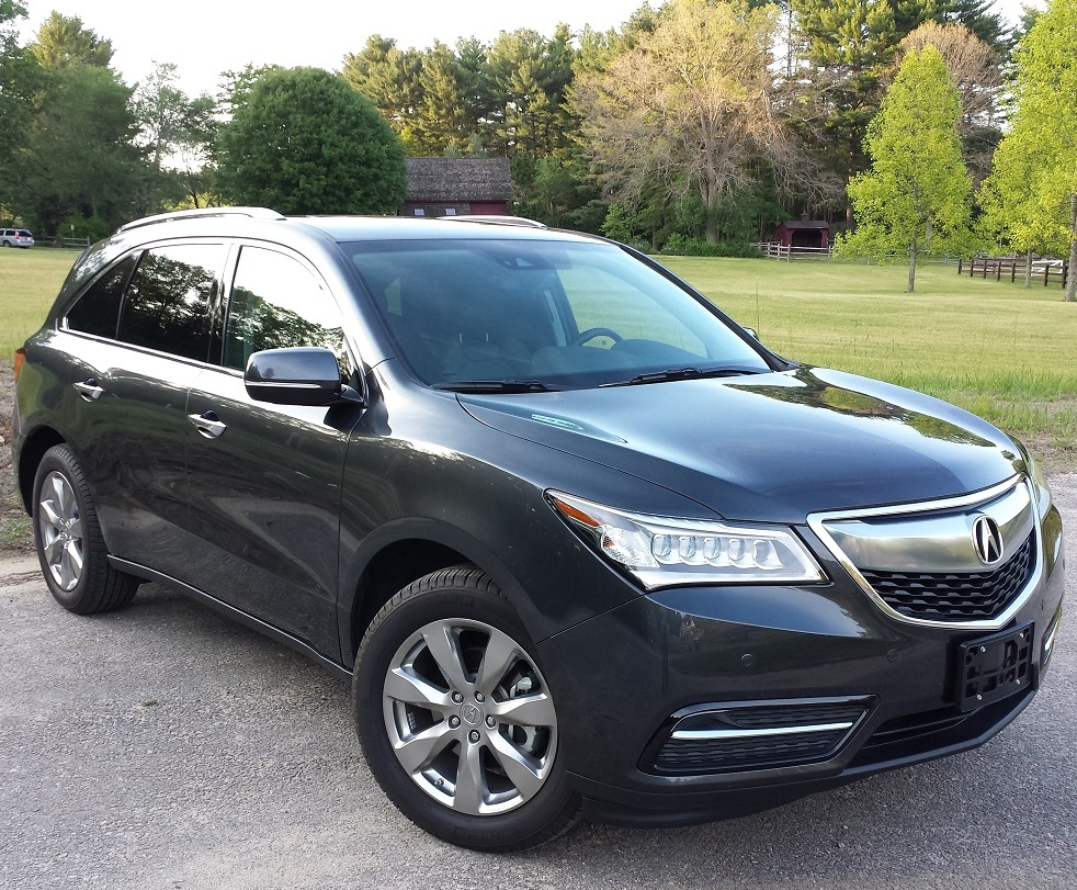 2015 Acura MDX review