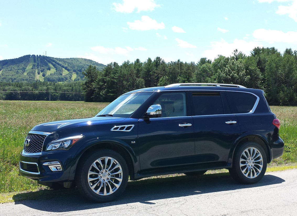 2015 INfiniti QX80 AWD Review
