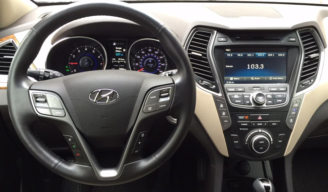 2015 Hyundai Santa Fe Rear Seating