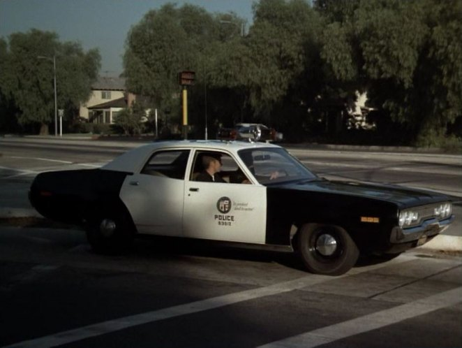 Cop Cars - 1971 Plymouth Belvedere