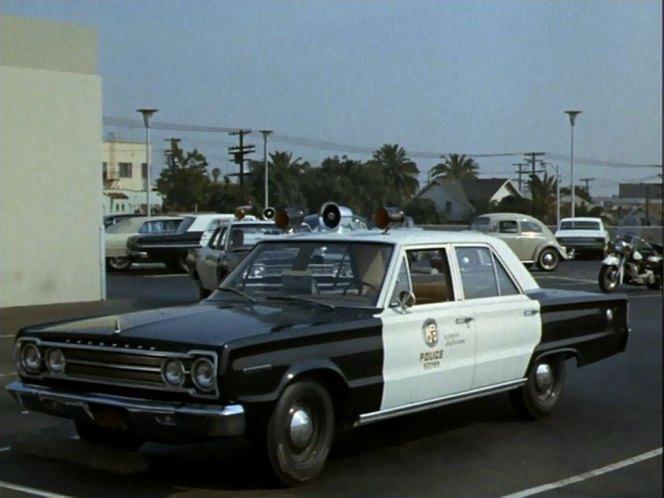 Cop Cars - Adam12 1967 Plymouth Belvedere
