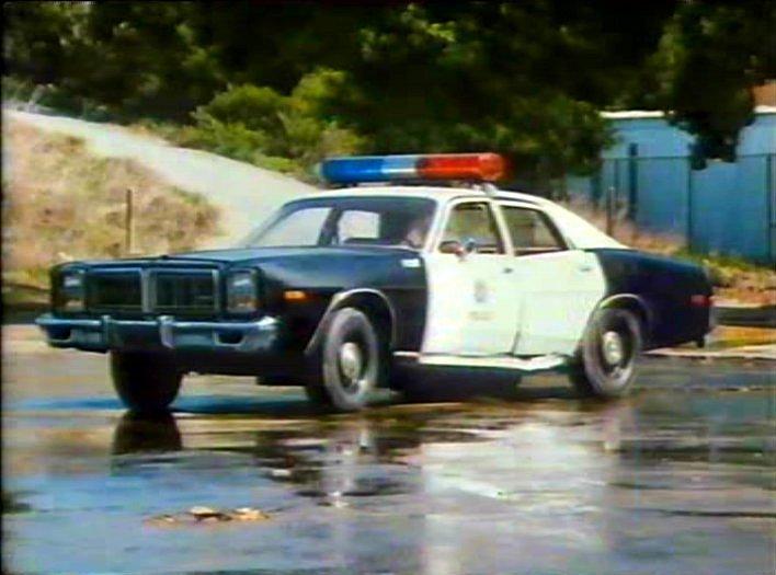 Cop Cars - TJ Hooker Dodge Monaco
