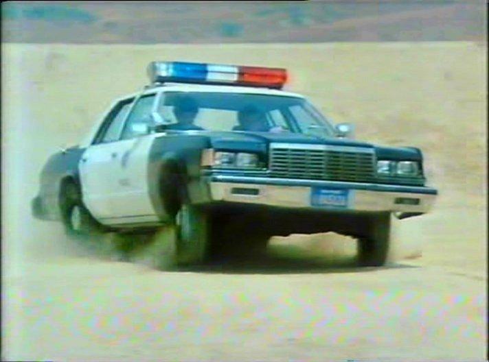 Cop Cars - TJ Hooker Dodge St. Regis