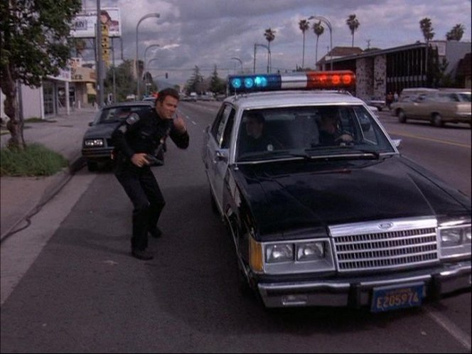 Cop Cars - TJ Hooker Ford LTD