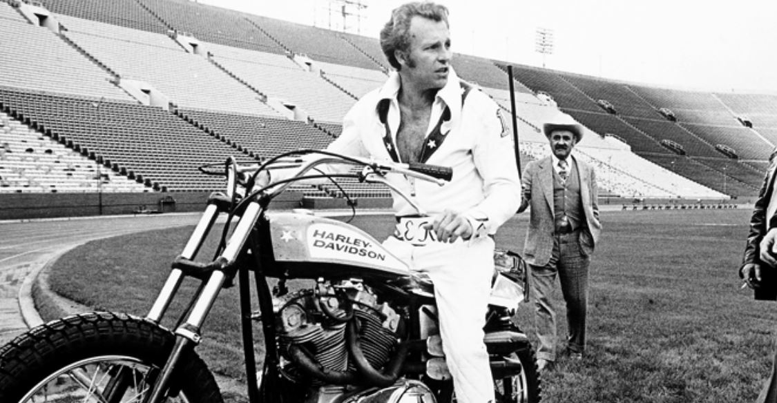 Evel Knievel Harley Auction: Kelly Knievel Talks About His Dad Ahead Of The DVD Release