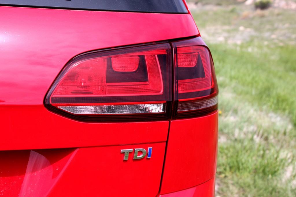 2015 VW Golf SportWagen TDI S Rear Quarter