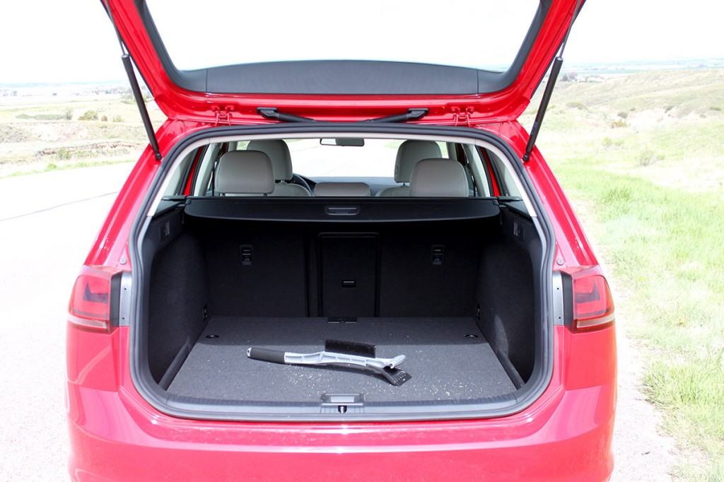 2015 VW Golf SportWagen TDI S Rear Cargo