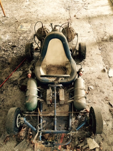 This Barn Find Rocket Powered Go Kart Is Insane
