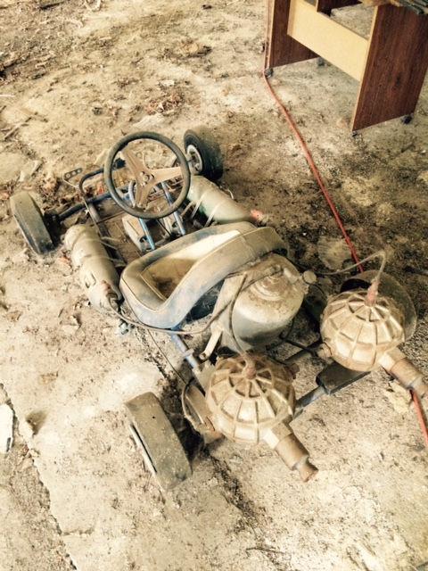 This Barn Find Rocket-Powered Go-Kart Is Insane | BestRide
