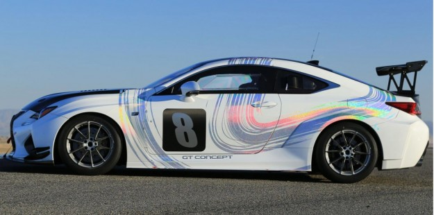 Lexus RC F GT Concept Finishes 3rd at Pikes Peak International Hill Climb