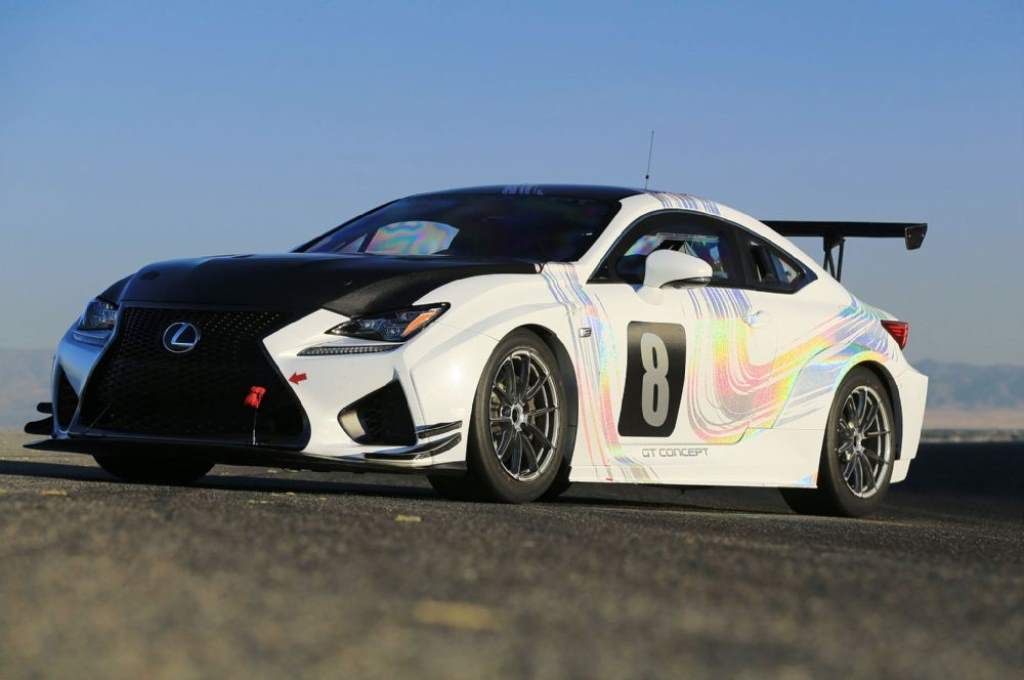 Lexus Rc F Gt Concept Finishes 3rd At Pikes Peak International Hill