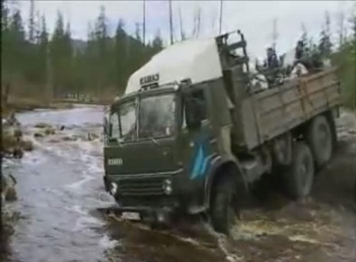 Long Way Round Truck