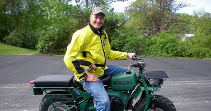 Randy Tefft is Riding a 35-mph ROKON 2WD Motorcycle Across America ...