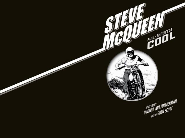 "Interview: Dwight Jon Zimmerman, Author of the Graphic Novel ""Steve McQueen: Full Throttle Cool"""