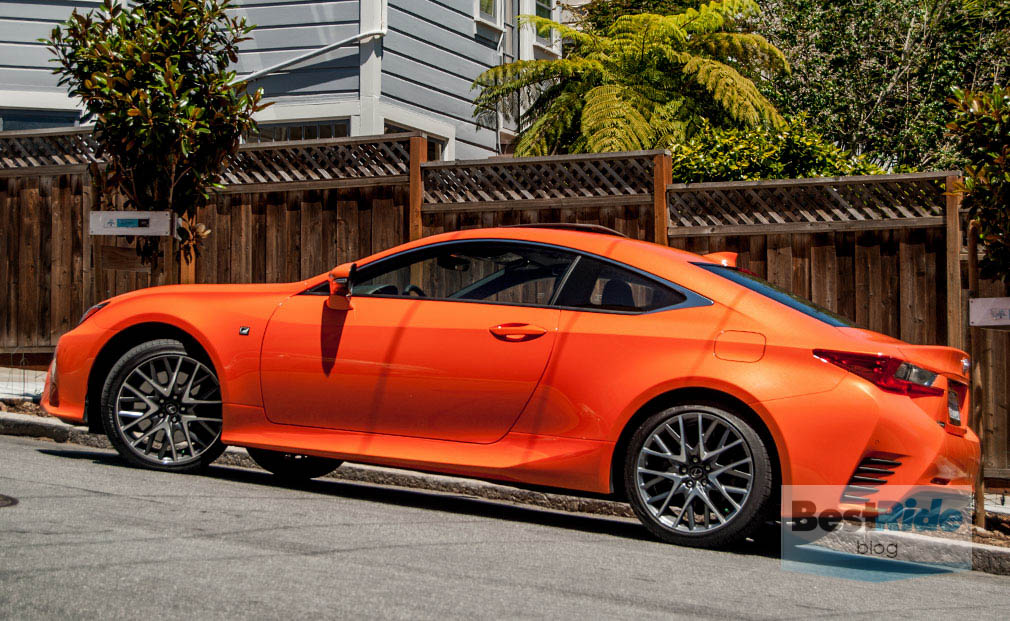 review 2015 lexus rc 350 f sport a glowing performer bestride. Black Bedroom Furniture Sets. Home Design Ideas