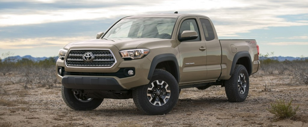 Toyota S Odd Beige Fetish Continues With 2016 Tacoma Trd