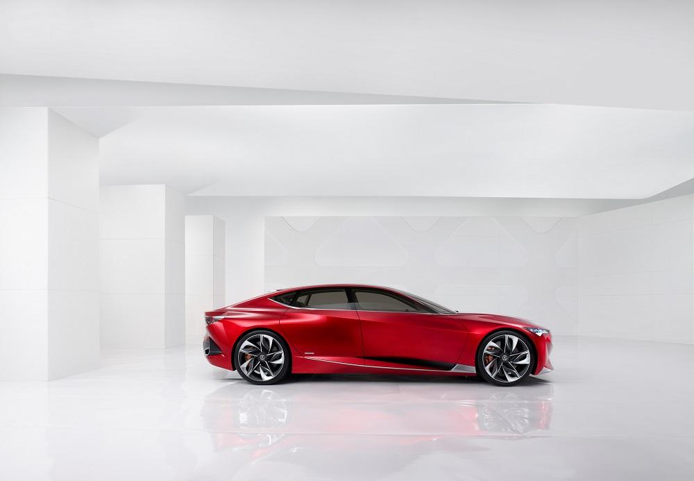Acura Precison Concept 2016 - Profile