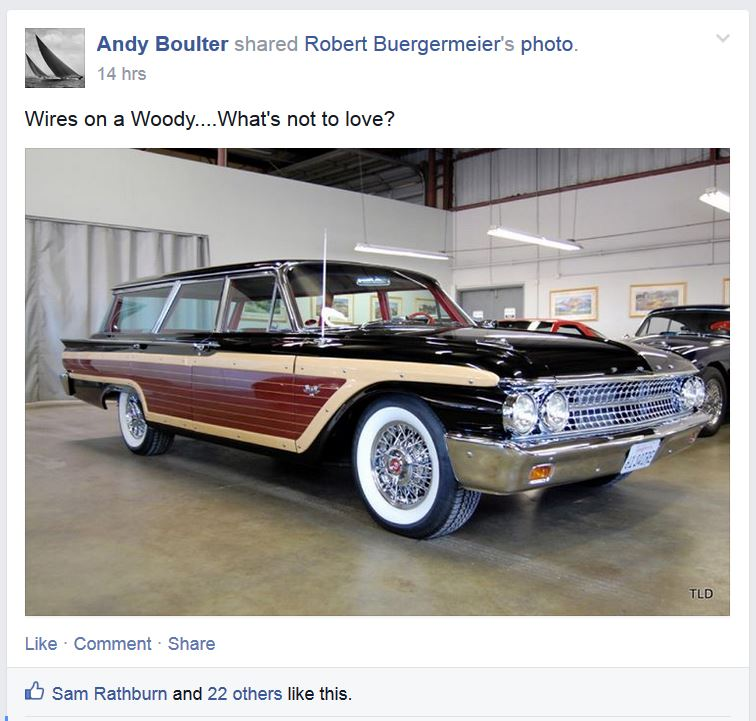 10 Best Facebook Pages - Secret Society of the Simulated Woodie