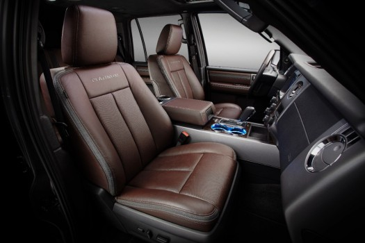 2015 Ford Expedition Platinum Interior Press Photo 001