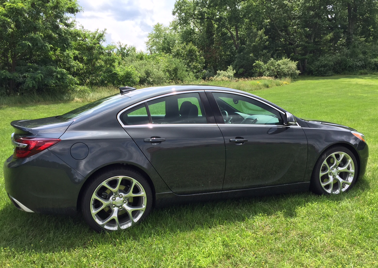 2015 Buick Regal GS Profile