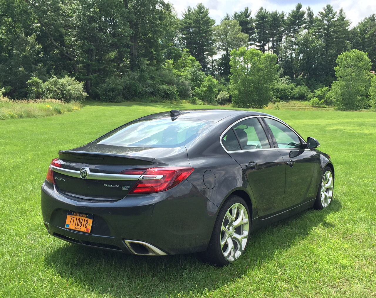 2015 Buick Regal GS Rear