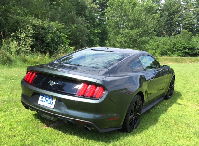 2015 Ford Mustang Rear