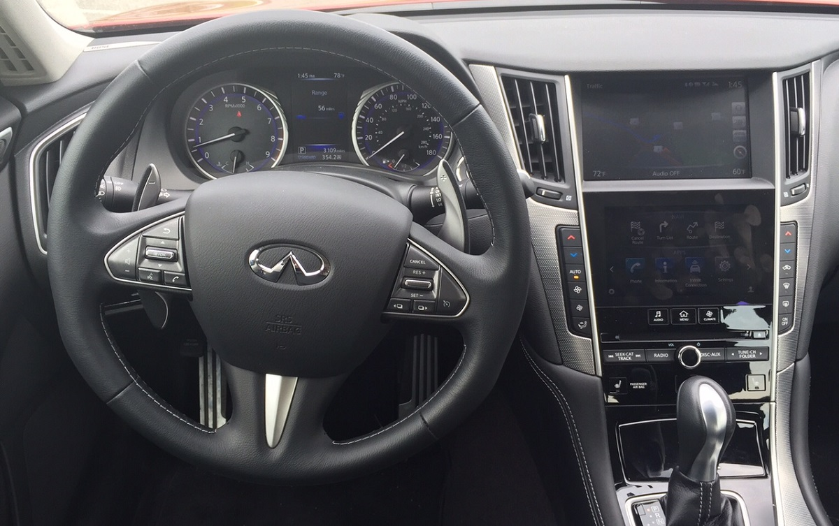 2015 Infiniti Q50S Dash