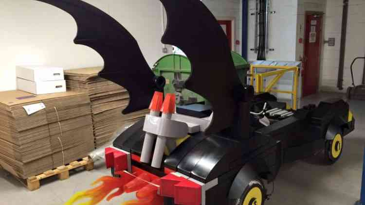 Batmobile Rear