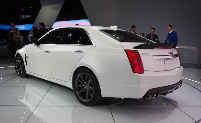 First Look 2016 Cadillac CTS-V Rear