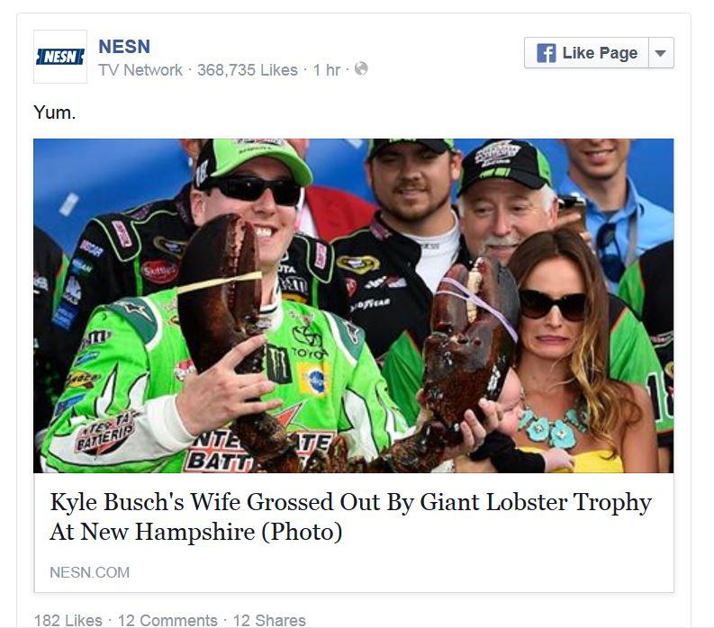 Kyle Busch - Facebook