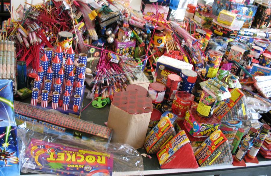 Kyle Busch - Fireworks