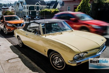 STREETSIDE: 1966 Chevy Corvair Monza 140 Convertible – On The Decline