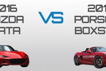 2016 Mazda Miata vs. 2015 Porsche Boxster – How Important is 0.3 Seconds to You?