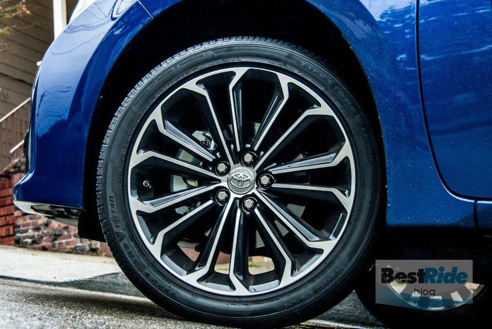 Toyota Corolla Tires >> Review 2015 Toyota Corolla The Popular Compact Bestride