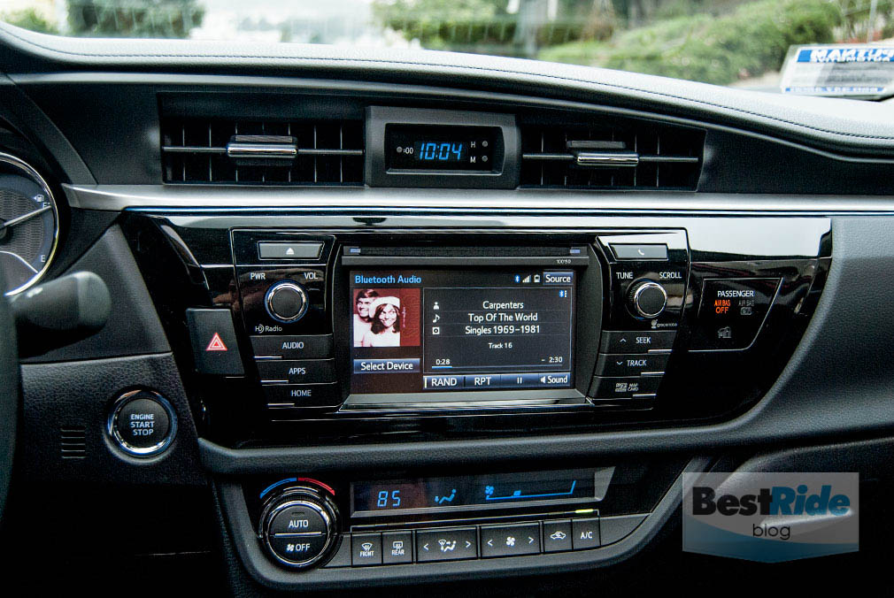 2015 Toyota Corolla With Heated Seats
