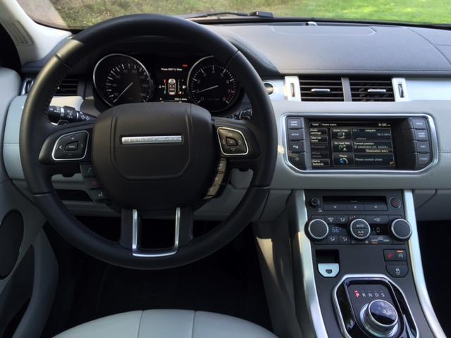 2015 Range Rover Evoque Dashboard