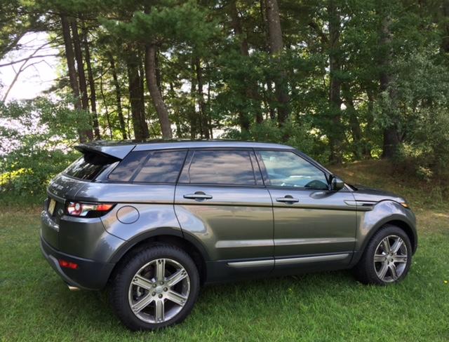 2015 Range Rover Evoque Profile