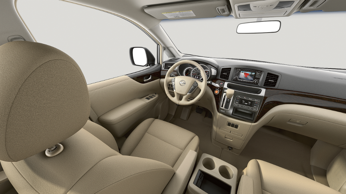 2015 Nissan Quest Interior