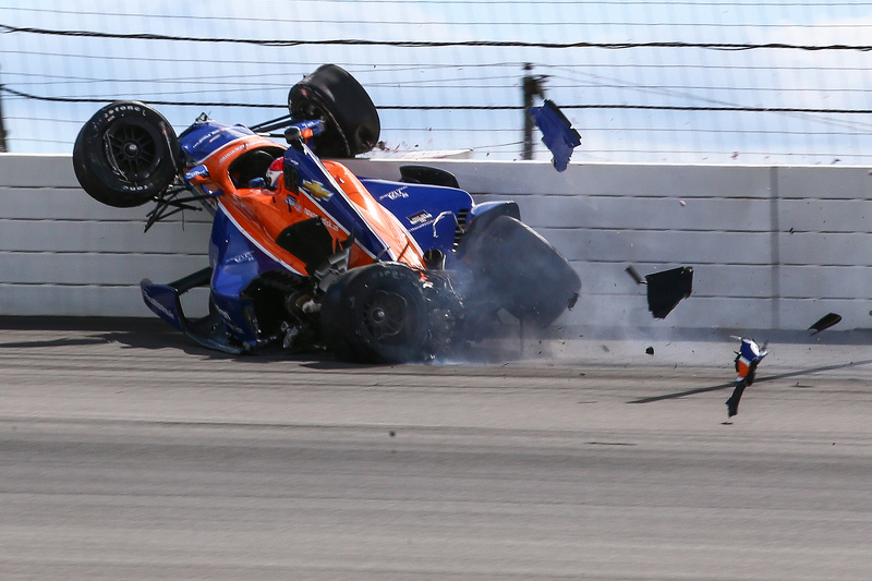 2016 IndyCar race Pocono Charlie Kimball (1)