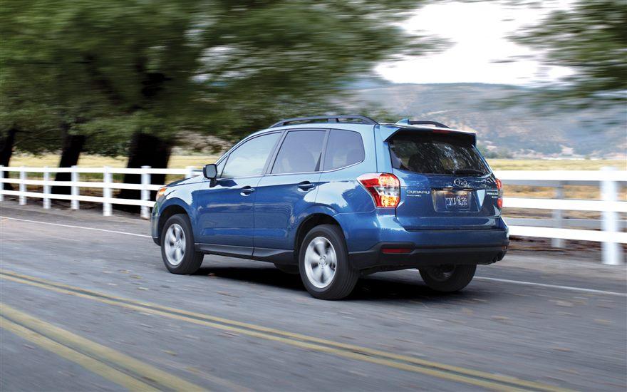 The 2016 Subaru Forester Premium