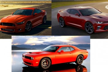 Camaro Mustang Challenger
