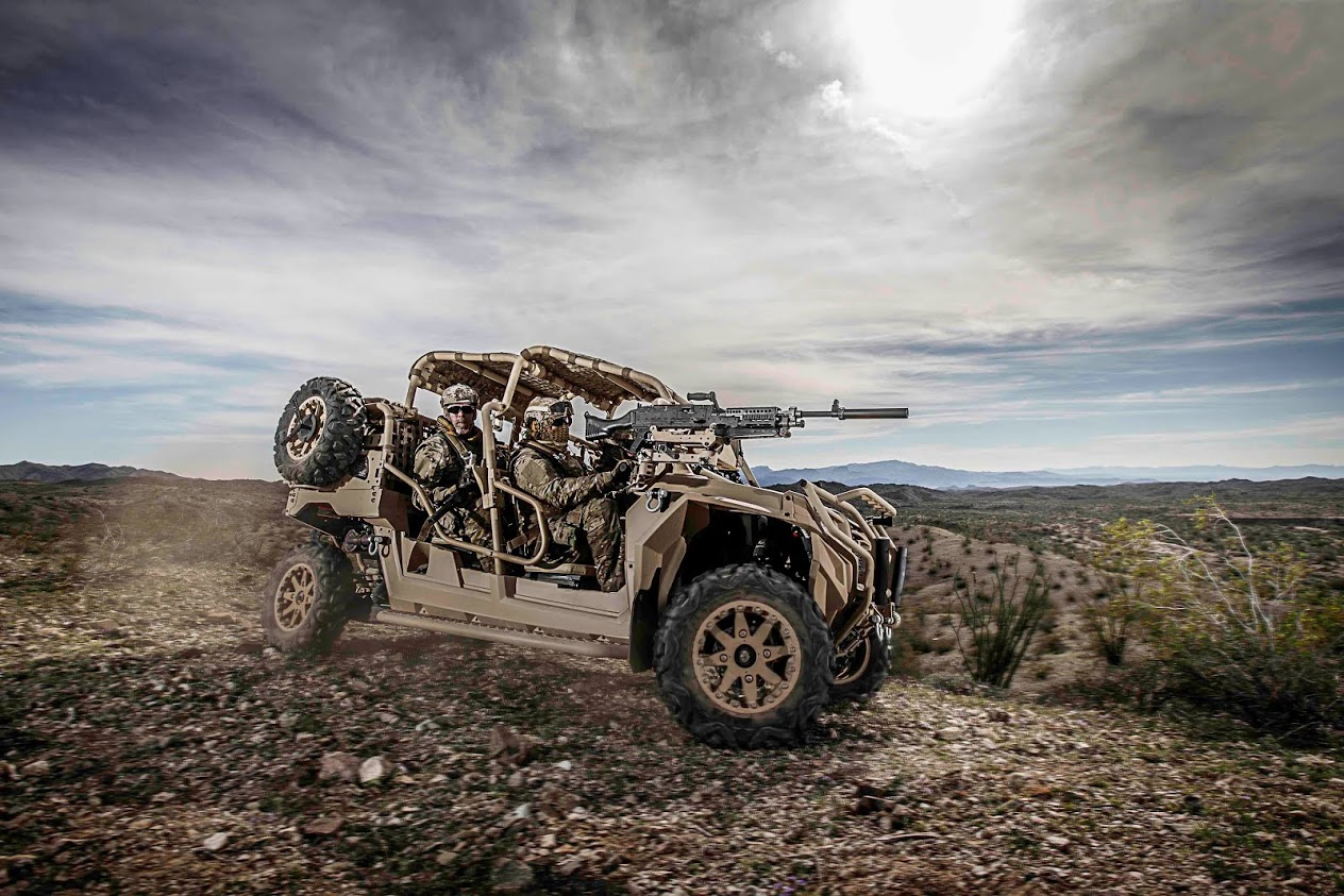 Polaris Defense MRZR4 2712