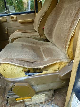 Trooper Drivers Seat