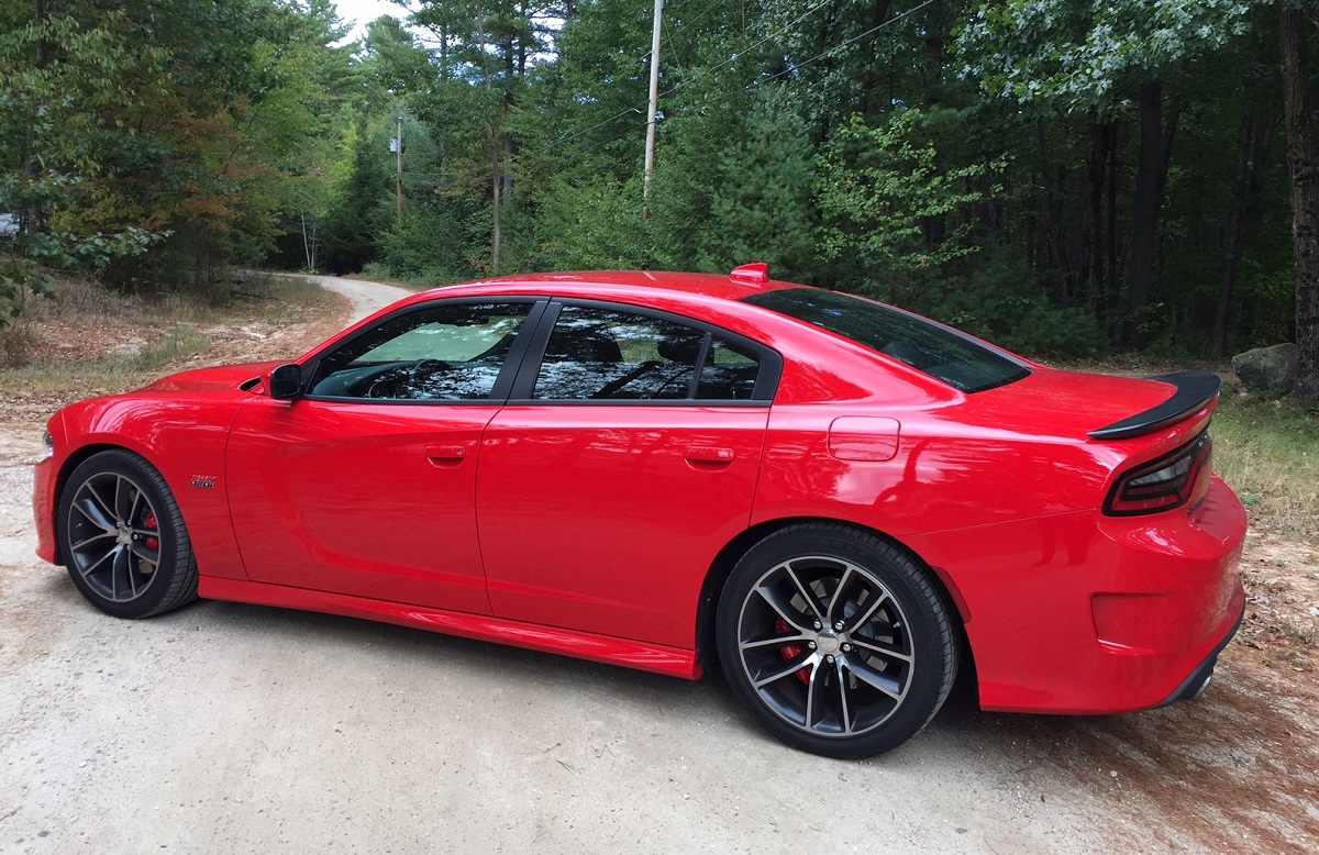 Review Dodge Charger Rt Scat Pack The Sedan With Muscle Car Chops 2015 Concept Profile