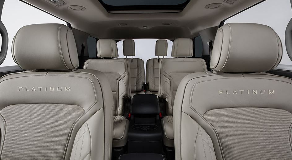 2016 Ford Explorer Platinum Seating