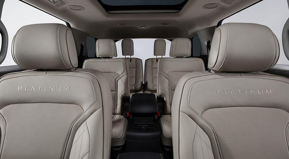 2016 Ford Explorer Platinum Seating