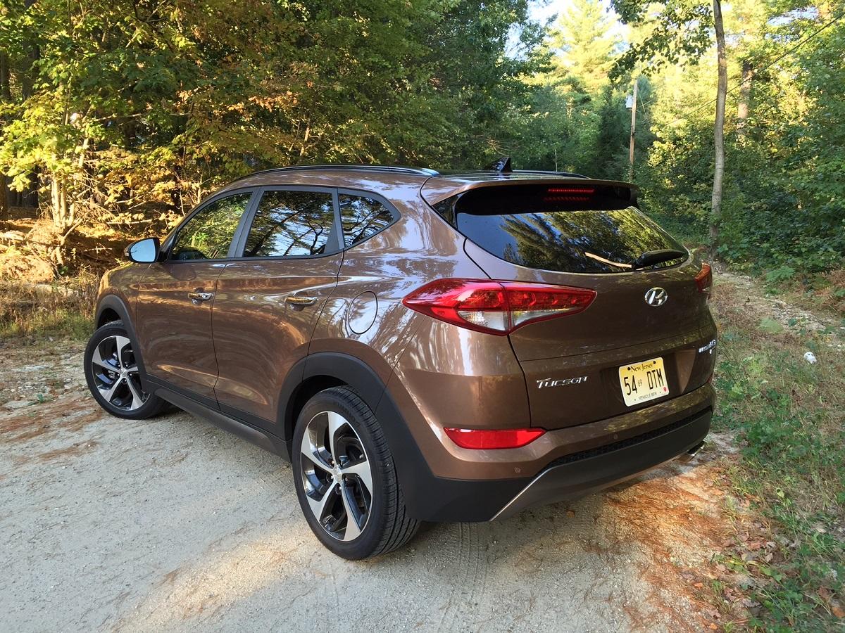 2016 Hyundai Tuscon Rear
