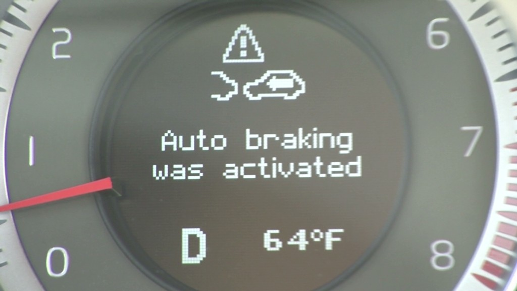 Automated Braking to be Standard Equipment