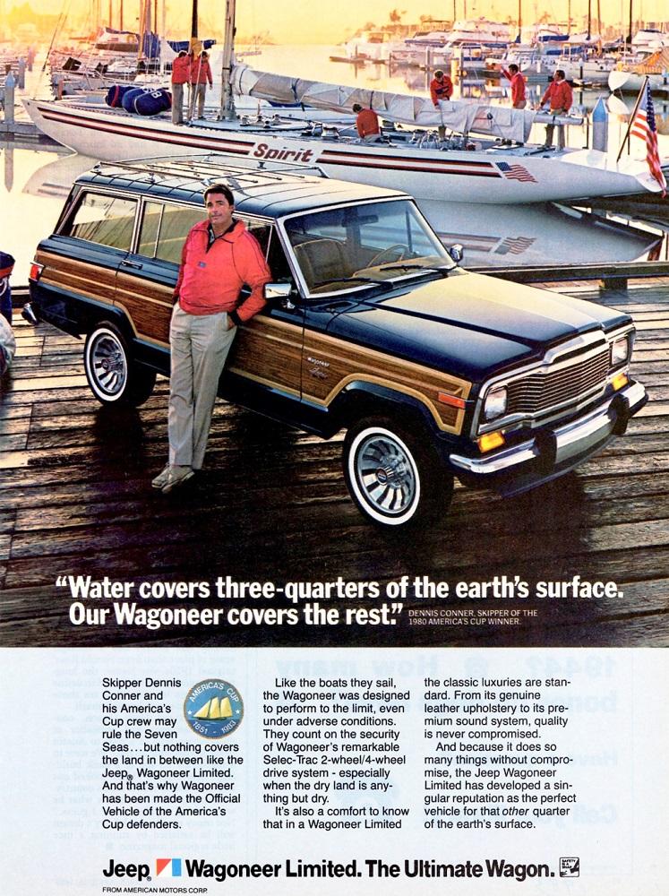 Jeep Wagoneer - 1983
