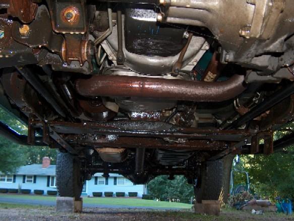 Oil Undercoating Truck
